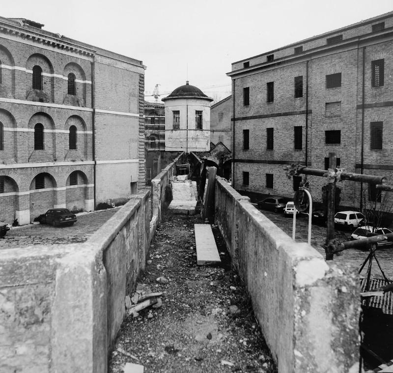 Complesso monumentale carcere borbonico prima della ristrutturazione