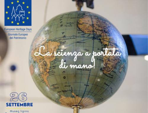 GIORNATE EUROPEE DEL PATRIMONIO LA SCIENZA A PORTATA DI MANO